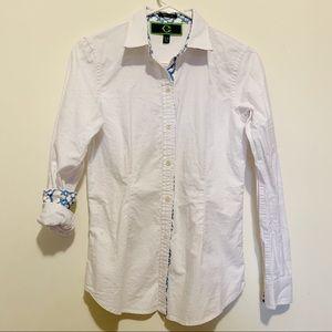 C. Wonder Signature Fit white Button Down Shirt XS